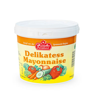 Delikatess Mayonnaise 80% Rapsöl 10Kg