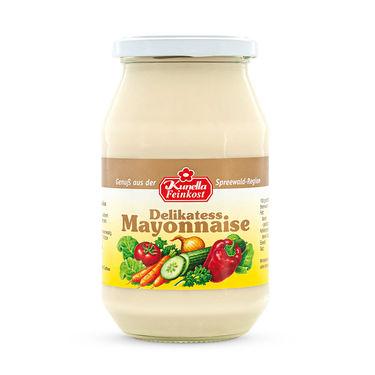 Delikatess Mayonnaise 80% Rapsöl 500ml