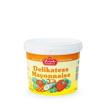 Delikatess Mayonnaise 80% Rapsöl 5Kg