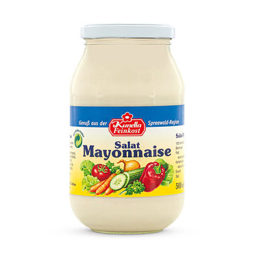 Salat Mayonnaise 50% Rapsöl 500ml